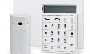 keypad alarm system