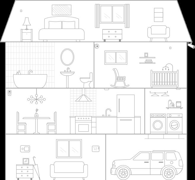 SmartHome Interactive Graphic